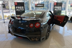 AK70 Carbon Coat - Back of Nissan R35 GTR